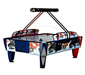Double Fast Track 4 Player Air Hockey Game