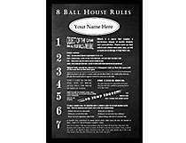 8 Ball House Rules