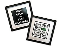 Billiards Keep Calm and Word Art Posters