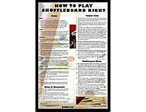 Play Shuffleboard Right Poster