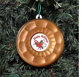 Table Shuffleboard Holiday Christmas Ornament