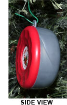 Holiday Shuffleboard Ornament