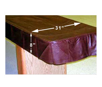 Table Shuffleboard Covers