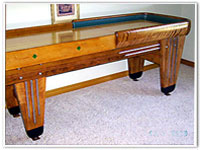 Rockola Shuffleboard Table by Kay's Restorations
