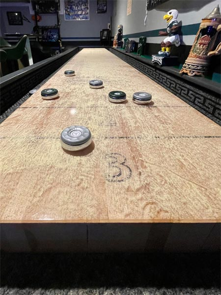 Joe Lafferty's Shuffleboard Project