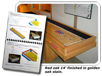 Shuffleboard Plans