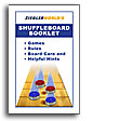 Table Shuffleboard Rule Book