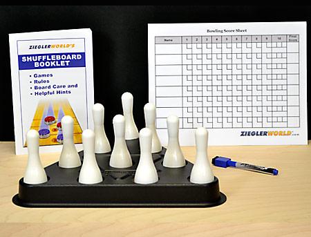Premium Shuffleboard Bowling Pins