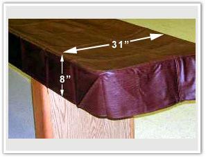 Amazing Shuffleboard Table Cover
